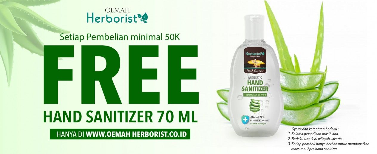 Free Hand Sanitizer