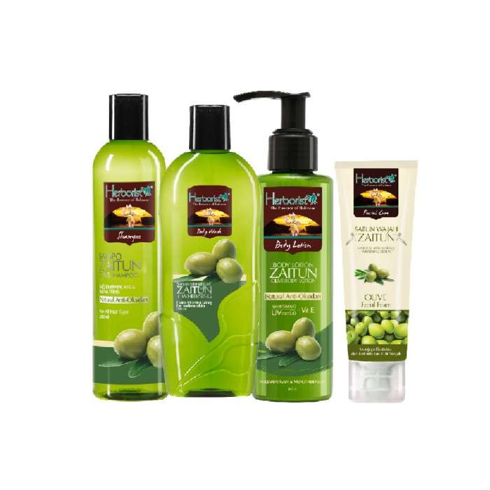 PAKET ZAITUN SHOWER ESSENTIAL