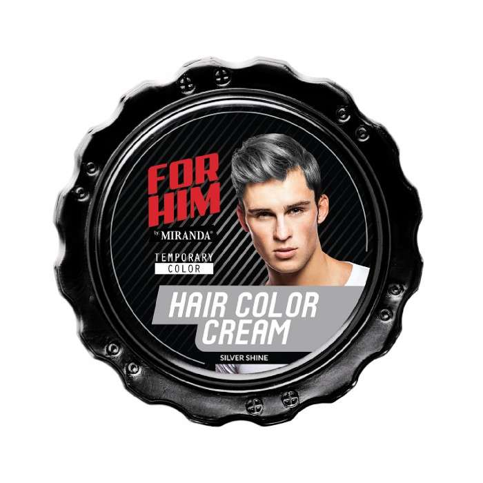 FOR HIM HAIR COLOR CREAM SILVER SHINE - 80GR