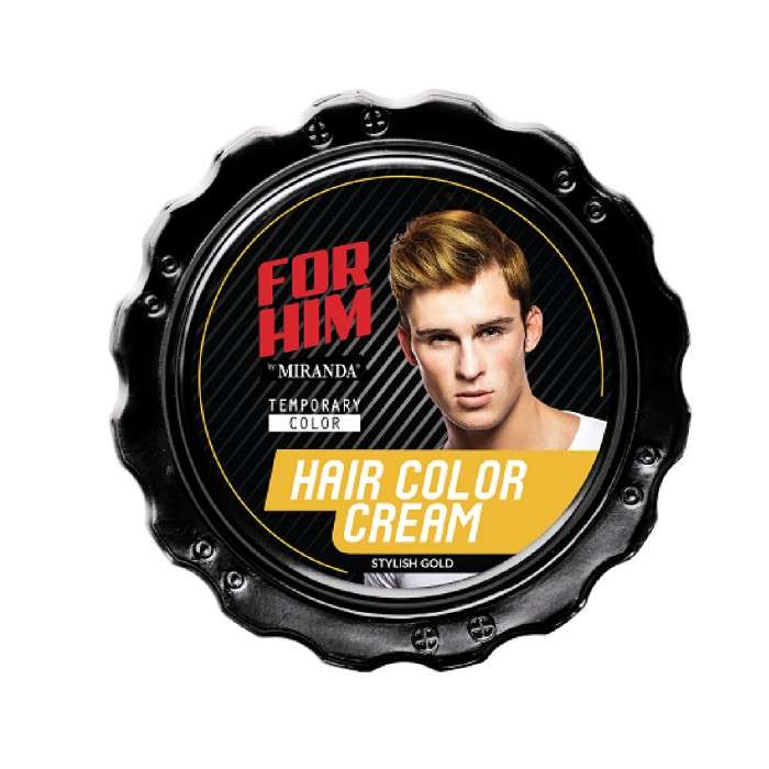 FOR HIM HAIR COLOR CREAM STYLISH GOLD - 80GR