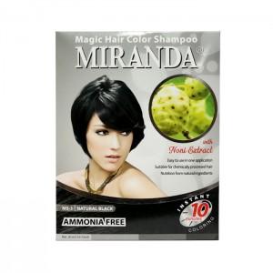 Magic Hair Color Shampoo Black - 30ml