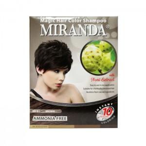 Magic Hair Color Shampoo Brown 30ml