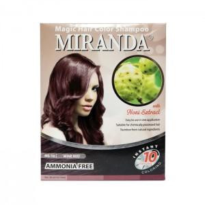Magic Hair Color Shampoo - Wine Red 30ml