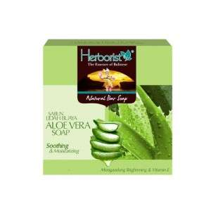 Natural Bar Soap Aloe Vera - 80gr