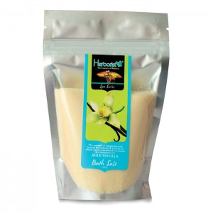 Bath Salt Milk Vanilla - 250gr