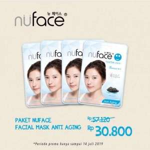 Paket Nuface Facial Mask Anti Aging - 120ml