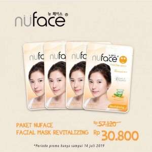Paket Nuface Facial Mask Revitalizing - 120ml
