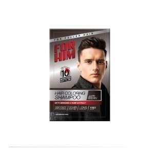 For Him Hair Coloring Shampoo Dark Brown- 30ml