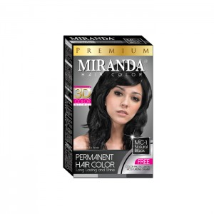 Hair Color Natural Black - 30ml