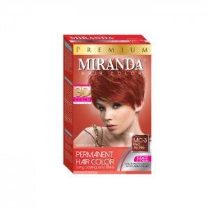 Hair Color Red As Fire - 30ml