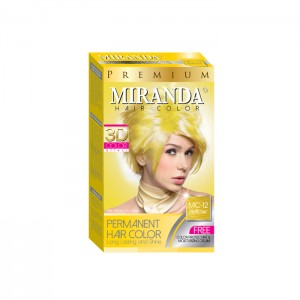 Hair Color Yellow - 30ml