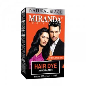 Natural Black Hair Dye - 25ml