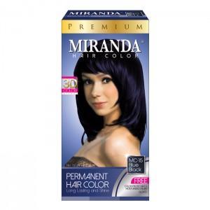 Hair Color Premium Blue Black - 60ml