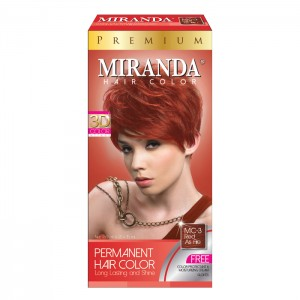 Hair Color Premium Red As Fire - 60ml