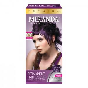 Hair Color Premium Rose Purple - 60ml